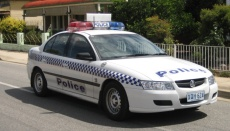 Business Email Compromise - police car