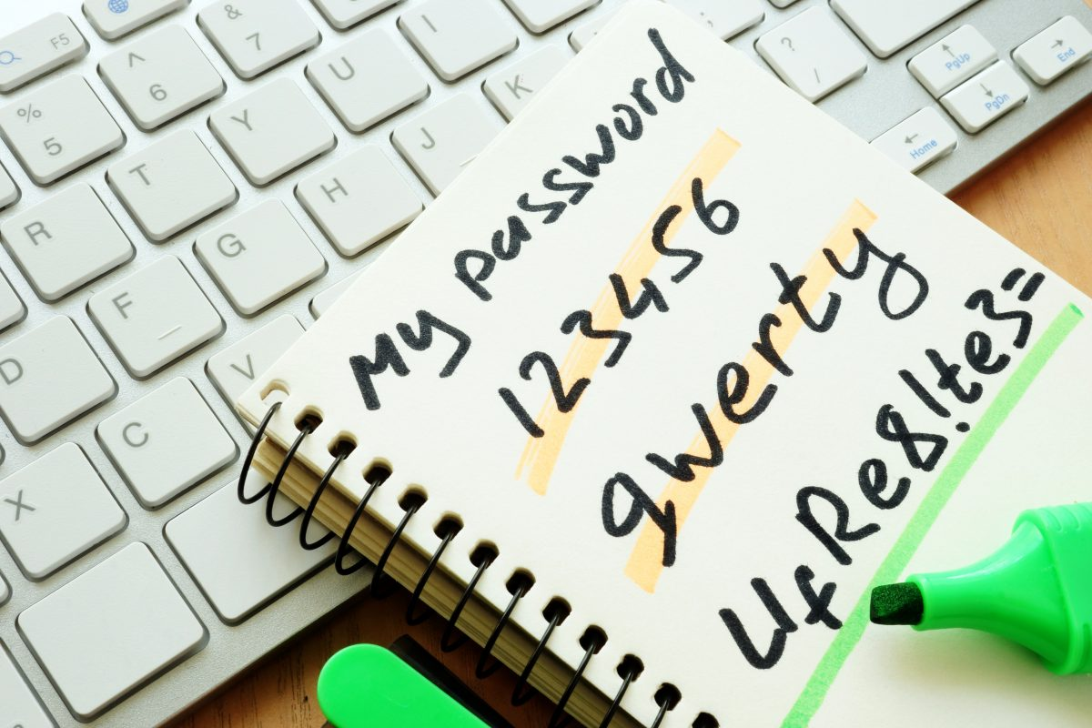 Password Security tips