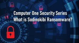 What is the Sodinokibi Ransomware - A cybersecurity image is presented